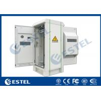 "China IP55 Outdoor Telecom Cabinet with Front Door and Rear Door,  Anti Corrosion Powder Coating, 19"" Rack, wholesale"