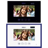China Color Video Door Phone with LED Clock Display (DF-636TSC) on sale