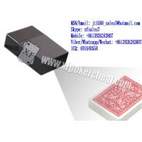 XF Black Plastic Cigarette Box Camera To Scan Invisible Bar-Codes Marked Playing Cards Manufactures