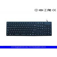Desk Top Waterproof Silicone Keyboard F1 - F12 Function Keys and Numeric Keys Manufactures