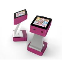 China Portable Touch Screen Kiosk With Rf Scanner / Ticket Printer/ Coupon Printer For Tel / Transport Card Recharging on sale