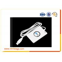 Smart Handheld Rfid Reader Writer / Nfc Reader And Writer White Manufactures