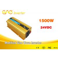 Buy cheap Car Power Inverter dc to ac 12v/24v 220v pure sine wave small inverter 1500watt from wholesalers