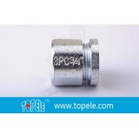 3/4 Inch IMC Conduit And Fittings , Three Piece Malleable Iron Coupling Manufactures