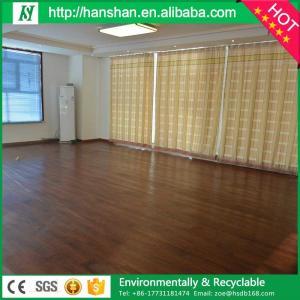 Best Price Wood Look SPC Vinyl Flooring/click lock vinyl plank flooring From hanshan Manufactures