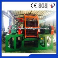 China Double Stage Plastic Granulator Recycling Tire Machine High Capacity on sale