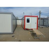 Prefab Flat Pack Living And Office Spaces For Mobile Workers For Construction Sites Manufactures