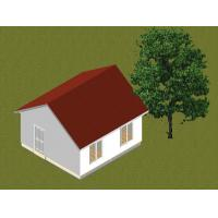 Small Family Steel Frame Prefab Bungalow Homes / Contemporary Prefab Homes Manufactures