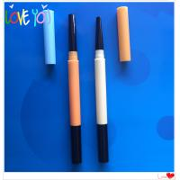OEM professional customized ABS eyebrow pencil, waterproof long lasting cosmetic eye brow pencil Manufactures