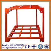 Shell and Tube Type and Esd Protection Feature tire rack,tyre display rack,warehouse storage racks Manufactures