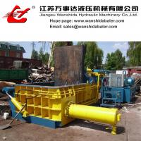 China Scrap steel compactor baler on sale
