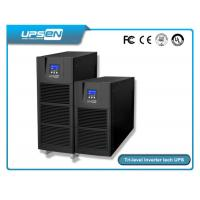 Smart Pure Sine Wave Single Phase Online UPS For Computer Center , Data Center Manufactures