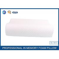 China Ergonomic Visco Memory Foam Contour Pillow With Ventilated Tencel Mesh Cover wholesale