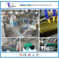 China Plastic PVC Suction Pipe Manufacturing Machine With Good Price on sale