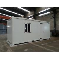 China Cheap disaster prefabricated house container on sale