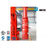 China 500 Uspgm Vertical Turbine Fire Pump Installation Easy With Carbon Steel Column Pipe on sale