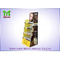 China Eco Promotion Advertisement Display Stands , Cardboard Store Display For Shampoo wholesale
