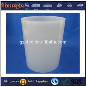 white  color plastic pc part polycarbonate plastic tubes pc tube For led light Manufactures