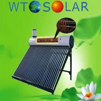 China copper coil solar water heater on sale