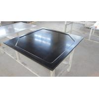 China Resist Heat Epoxy Resin Laboratory Worktops , Black Glare Surfaces wholesale