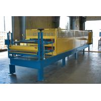 Galvanized Steel Corrugated Roof Panel Roll Forming Machine With Adjustable Size