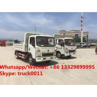 China Factory sale high quality and good price SINO TRUK HOWO Mini dump tipper truck, coal and stone transporting truck wholesale