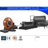 Quality Auto Spiral Culvert Pipe Making Machine with 9 Forming Stations used in water conservancy project for sale