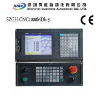 China RS232 5 Axis CNC Router Controller With Hardware Travel Limit / PLC Program on sale
