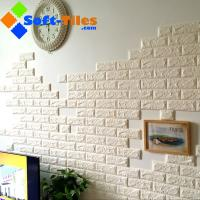 3D PE Foam Wallpaper Decor Natural Eco many bright colour available widely used in living room,wall, KTV etc Manufactures