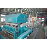 China Waste Paper Egg Tray Pulp Molding Machine , Paper Egg Tray Pulp Molding Machine on sale