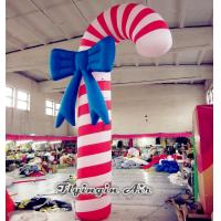 China Christmas Inflatable Candy Cane Model for Outdoor Christmas Decoration wholesale