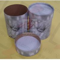 China Sealing Cylinder Food Packaging Tubes Cardboard Gift Box Soy Ink Print wholesale