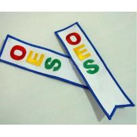 OEM textile and fabric, business gift, machine embroidery bookmarks souvenir Manufactures