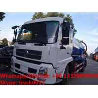 China Cheapest price dongfeng 4*2 LHD 10cbm vacuum tank truck for sale, Factory sale good price sludge tank truck wholesale