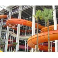 Wide Spiral Water Slide , Adult Body Slide Aqua Water Park Equipment Manufactures