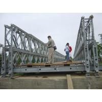 China DD Type Single Lane Bridge , Modular Rigid Frame Bridge With Steel Deck wholesale