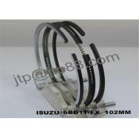 Quality Isuzu piston ring 6BD1 oil ring 5mm all engine repair parts on sale for sale