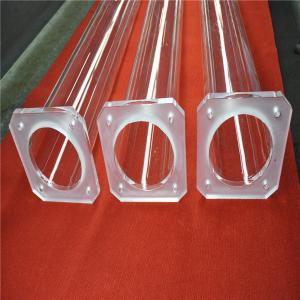 High Purity 99.998% Square Quartz Flange Manufactures