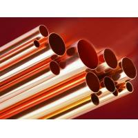 Superior Elongation Brass Copper Water Tube BFe30-1-1 / BFe10-1-1 Manufactures