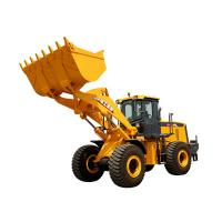 3.5m³ XCMG Wheel Loader LW600KN Heavy Equipment Road Construction Machinery With Guide Control Manufactures