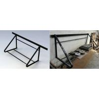Wide Steel Tire Storage Rack , Warehouse Tyre Display Stand Rack Manufactures