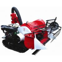 2015 new arrival 4LZ-0.8 Tracked Mini Paddy Wheat Combine Harvester Manufactures