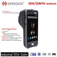 1.5m Drop Resitance Industrial Portable Data Terminal Smartphone 2 Inch Direct Thermal Printer Manufactures