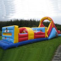 inflatable water obstacle course for sale Manufactures