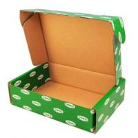 Printed Cardboard Boxes With Lids , Fruit Packing Boxes FSC SGS Certificate Manufactures