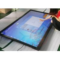 Capacitive touch screen monitor Advertising Kiosk 0.625mm Touch precision None Noise DDW-AD4701SNT Manufactures