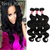 China 100g Body Wave Indian Virgin Curly Hair With No Chemical No Mixture wholesale