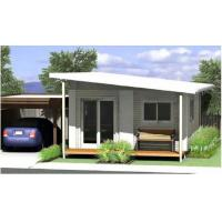 China Energy Saving Prefabricated Australian Granny Flats / Granny Flats For Holiday Living wholesale