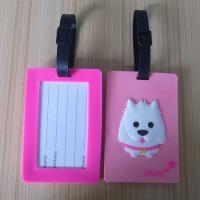 China Customized Leather Personalized Luggage Tags With Debossed OEM wholesale