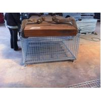 Buy cheap Zinc Plate Wire Mesh Container Mesh Storage Boxes Up To 1.2 Tonne from wholesalers